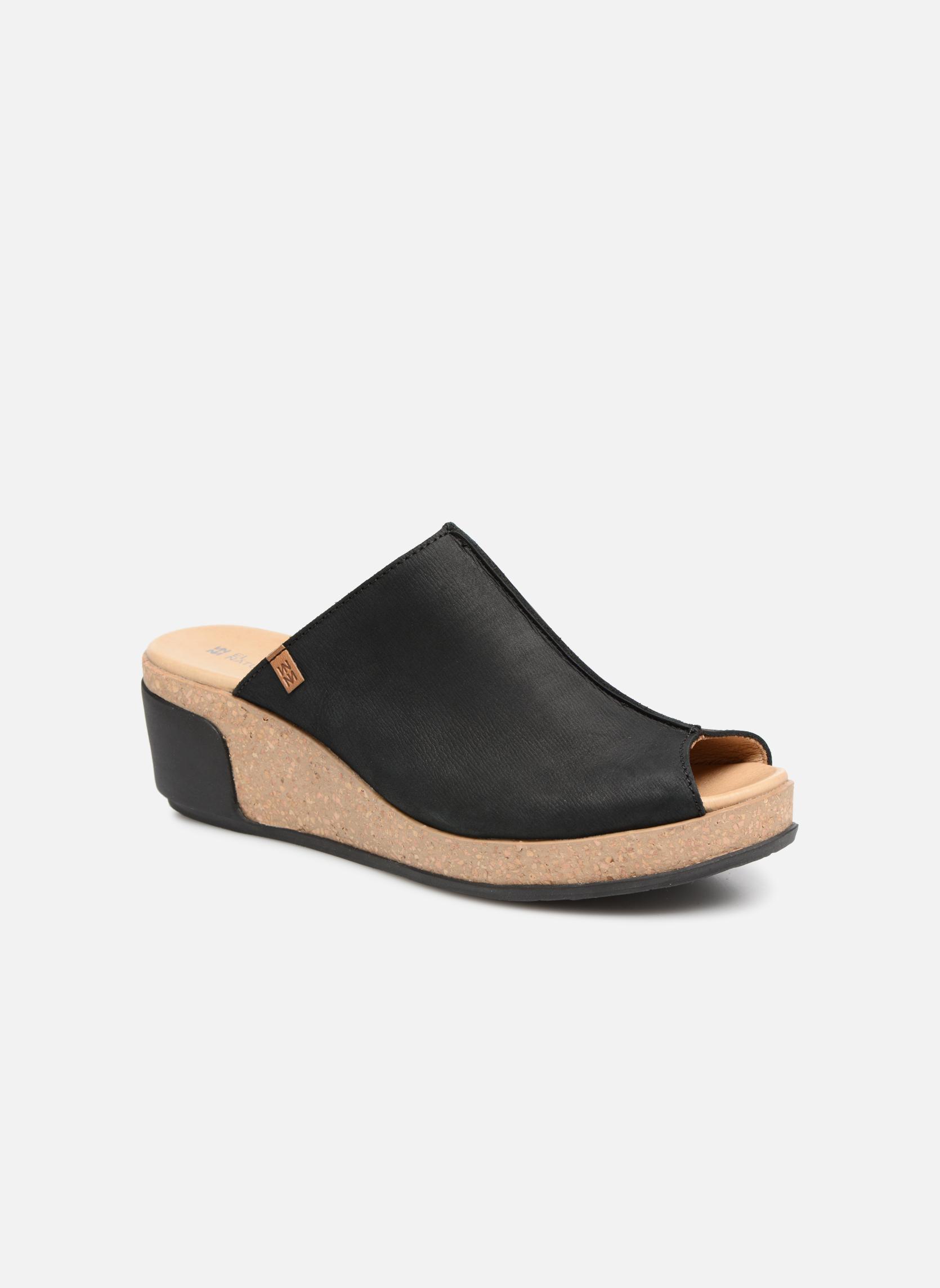 Grandes descuentos últimos - zapatos El Naturalista Leaves N5005 (Negro) - últimos Zuecos Descuento 226017