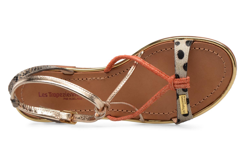 Sandales et nu-pieds Les Tropéziennes par M Belarbi Hirondel Or et bronze vue haut