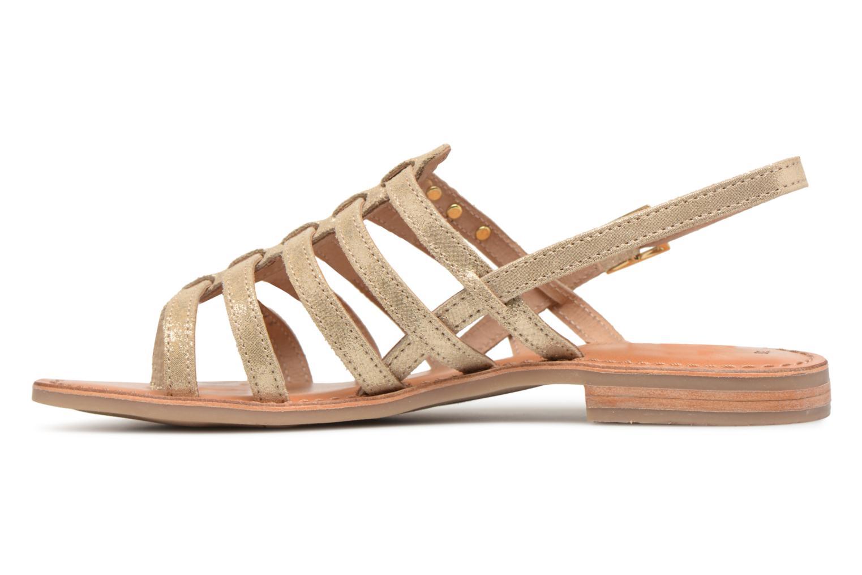 Sandales et nu-pieds Les Tropéziennes par M Belarbi Hariette Beige vue face