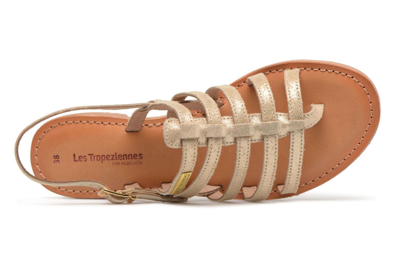 Sandales et nu-pieds Les Tropéziennes par M Belarbi Hariette Beige vue gauche