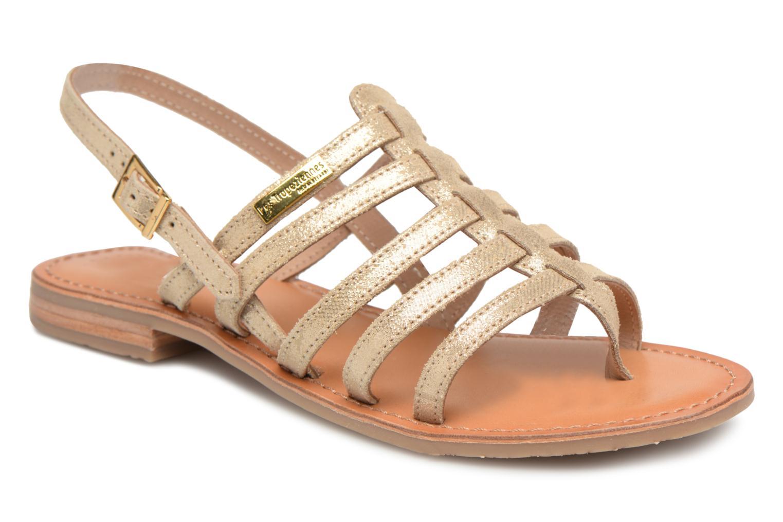 Sandales et nu-pieds Les Tropéziennes par M Belarbi Hariette Beige vue détail/paire