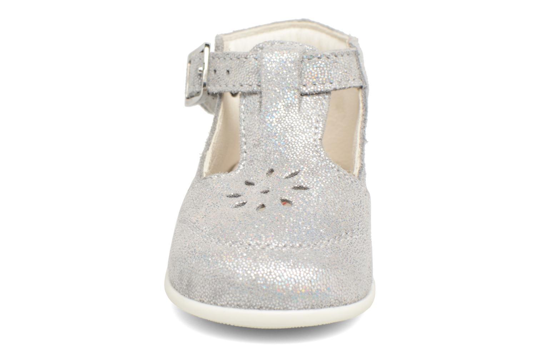 Ballerines Bopy Panpan Argent vue portées chaussures