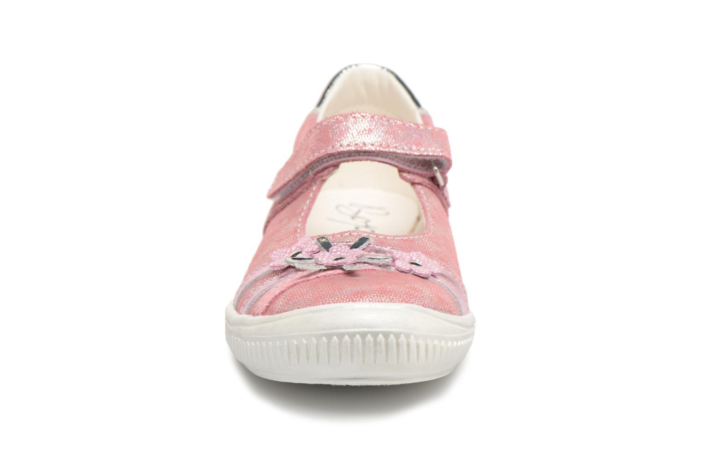 Ballerines Bopy Sefana Rose vue portées chaussures