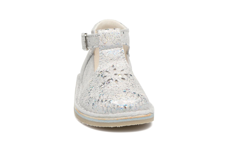 Ballerines Bopy Mepipa Argent vue portées chaussures