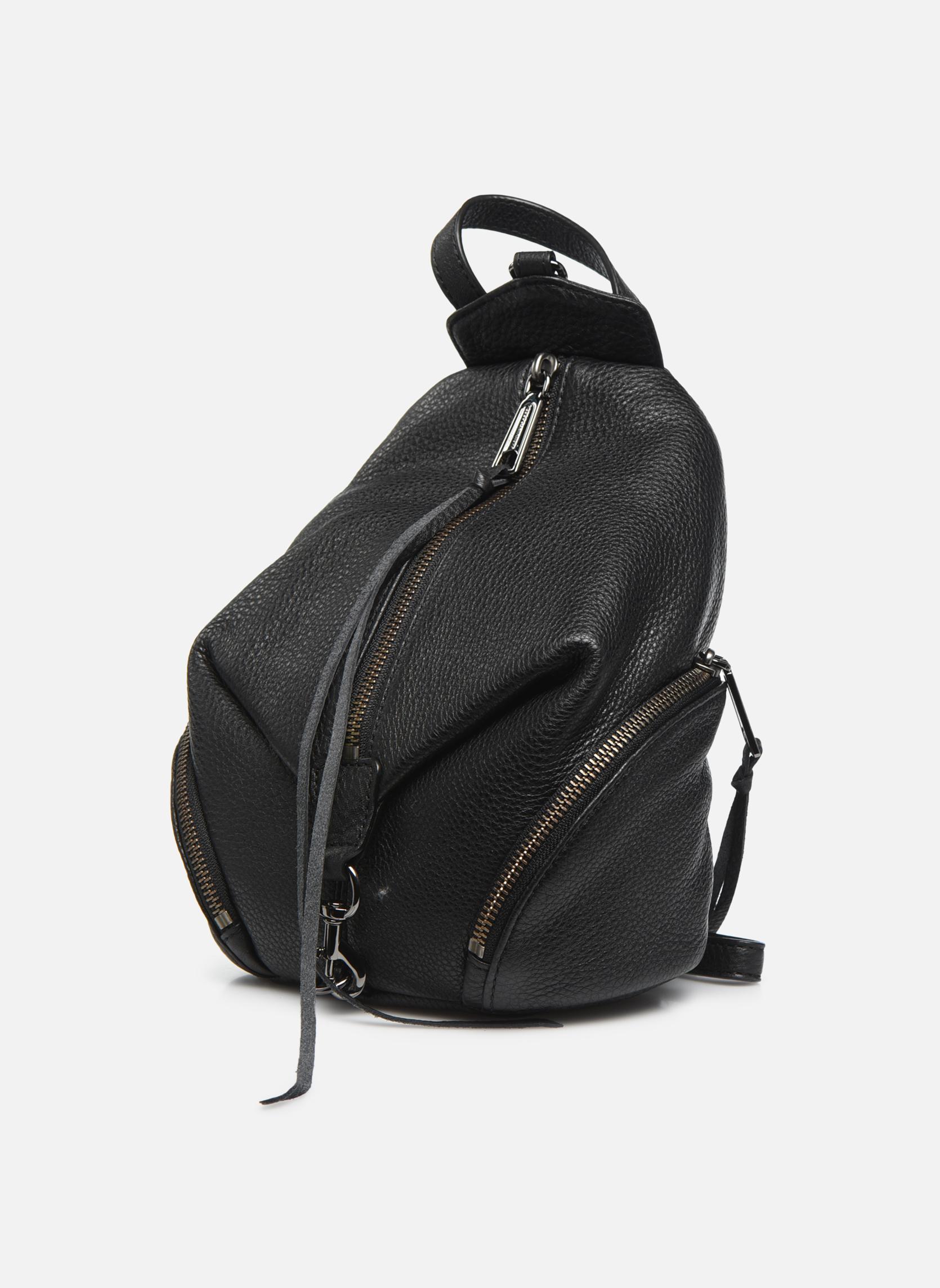 Convertible Mini Julian Backpack Black 001
