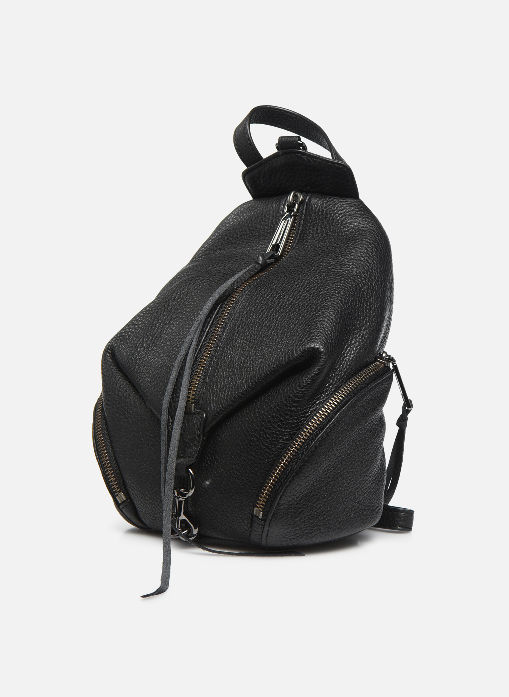 Rugzakken Rebecca Minkoff Convertible Mini Julian Backpack Zwart model