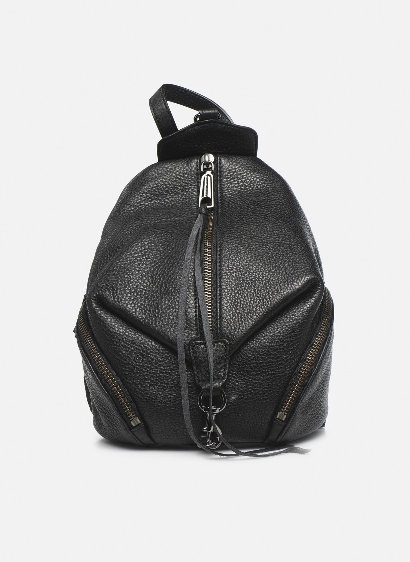 Rugzakken Rebecca Minkoff Convertible Mini Julian Backpack Zwart detail