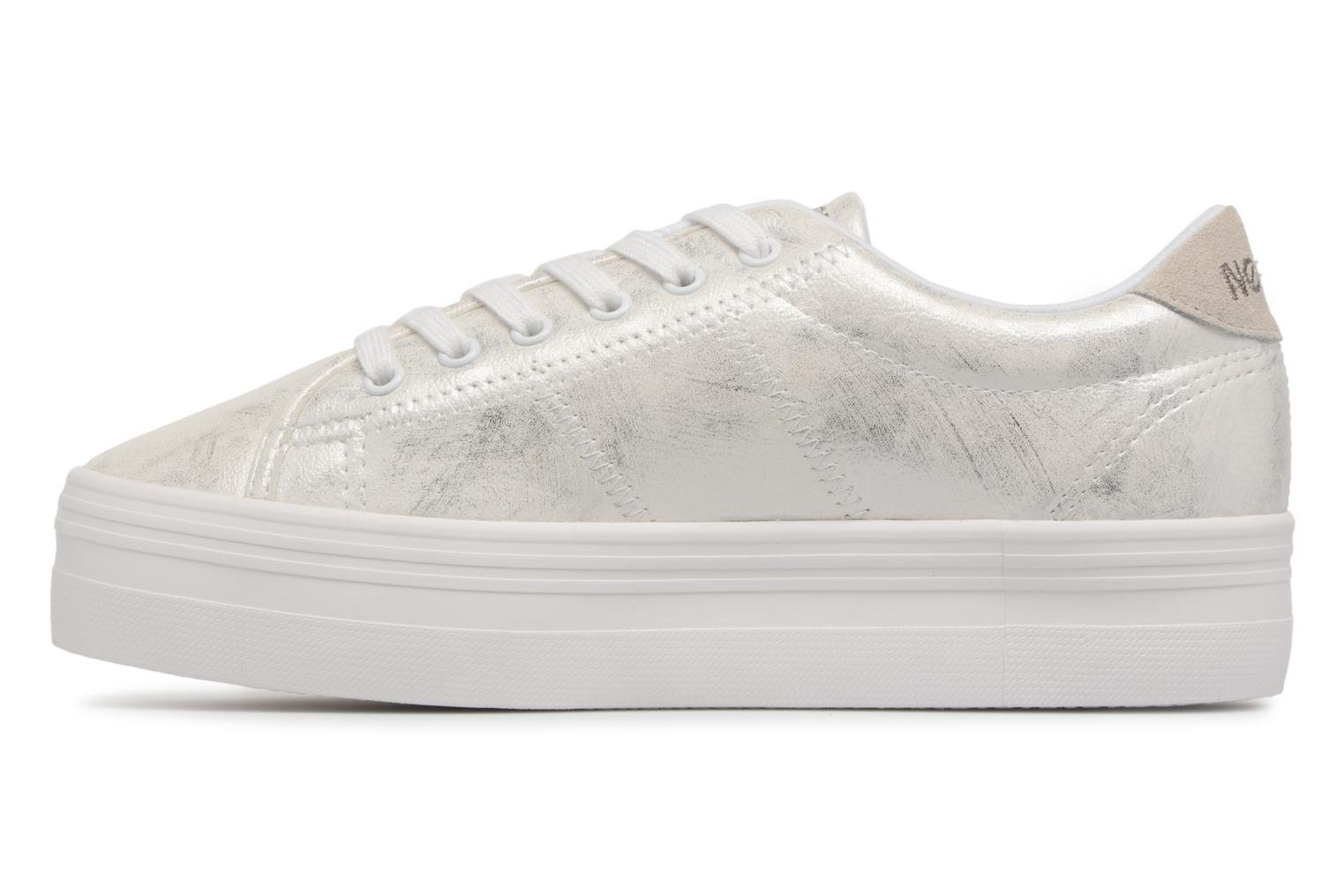 Sneakers No Name Plato Sneaker After Wit voorkant
