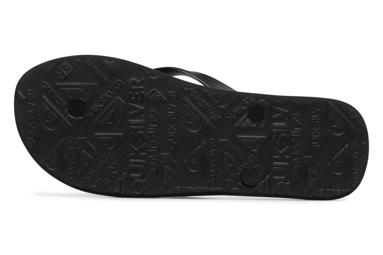 Flip flops Quiksilver Molokai Highline Slab Blue view from above