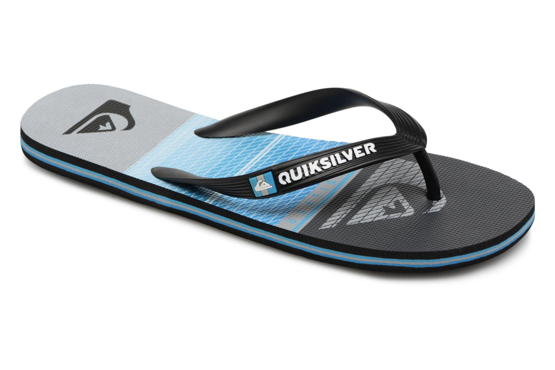 Marques Chaussure homme Quiksilver homme Molokai Highline Slab Black/grey/blue