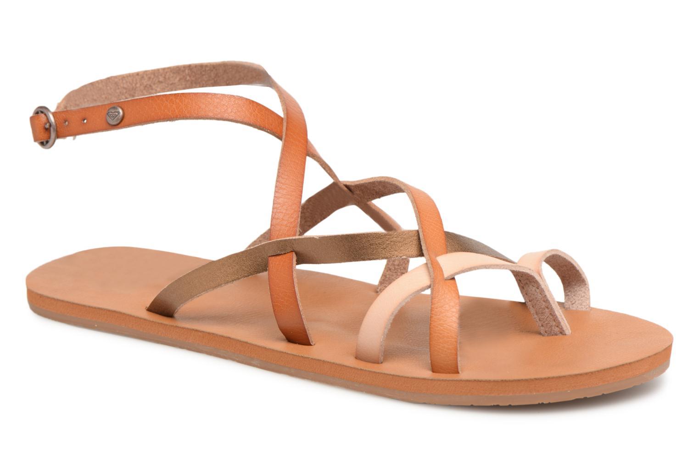 Sandales et nu-pieds Roxy Julia Marron vue détail/paire