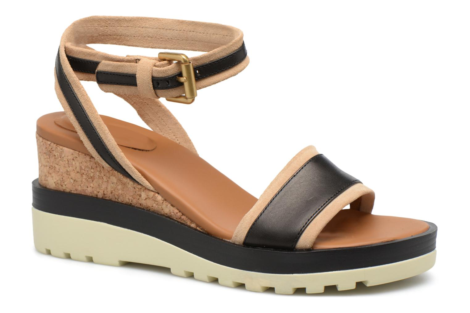 Marques Chaussure luxe femme See by Chloé femme Robin 2 Bronze