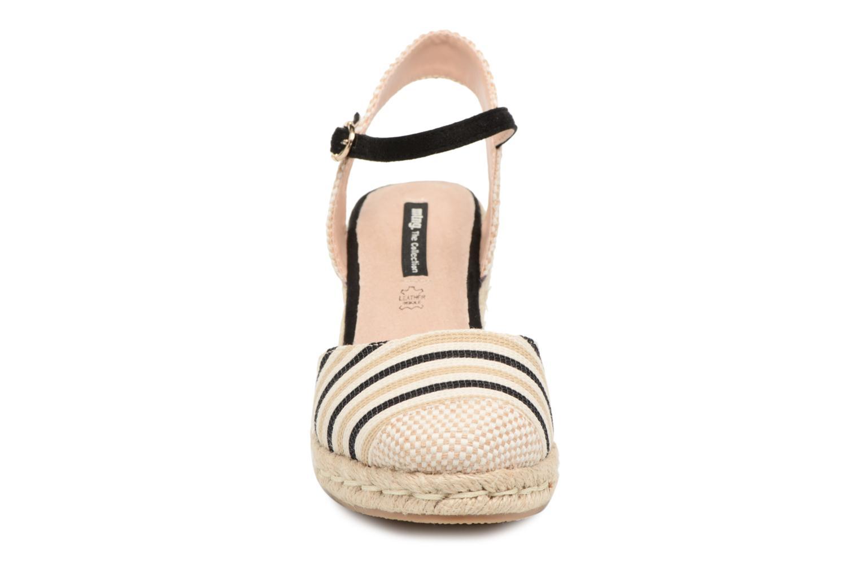 Espadrilles MTNG Palmier Multicolore vue portées chaussures