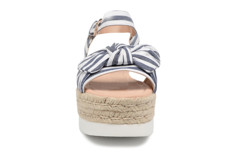 Espadrilles MTNG Kira Blanc vue portées chaussures