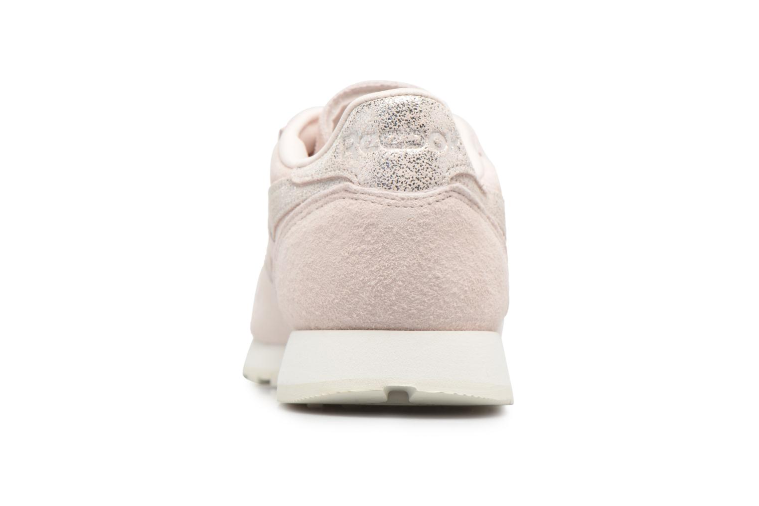 Baskets Reebok Classic Leather Shimmer Rose vue droite