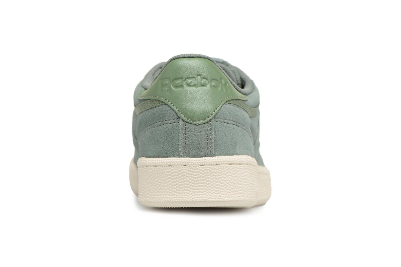 Sneakers Reebok Club C 85 Montana Cans Collaboration Groen rechts