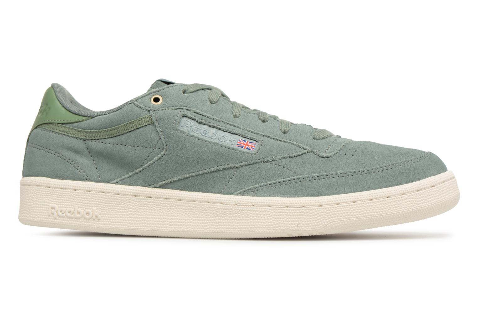 Sneakers Reebok Club C 85 Montana Cans Collaboration Groen achterkant