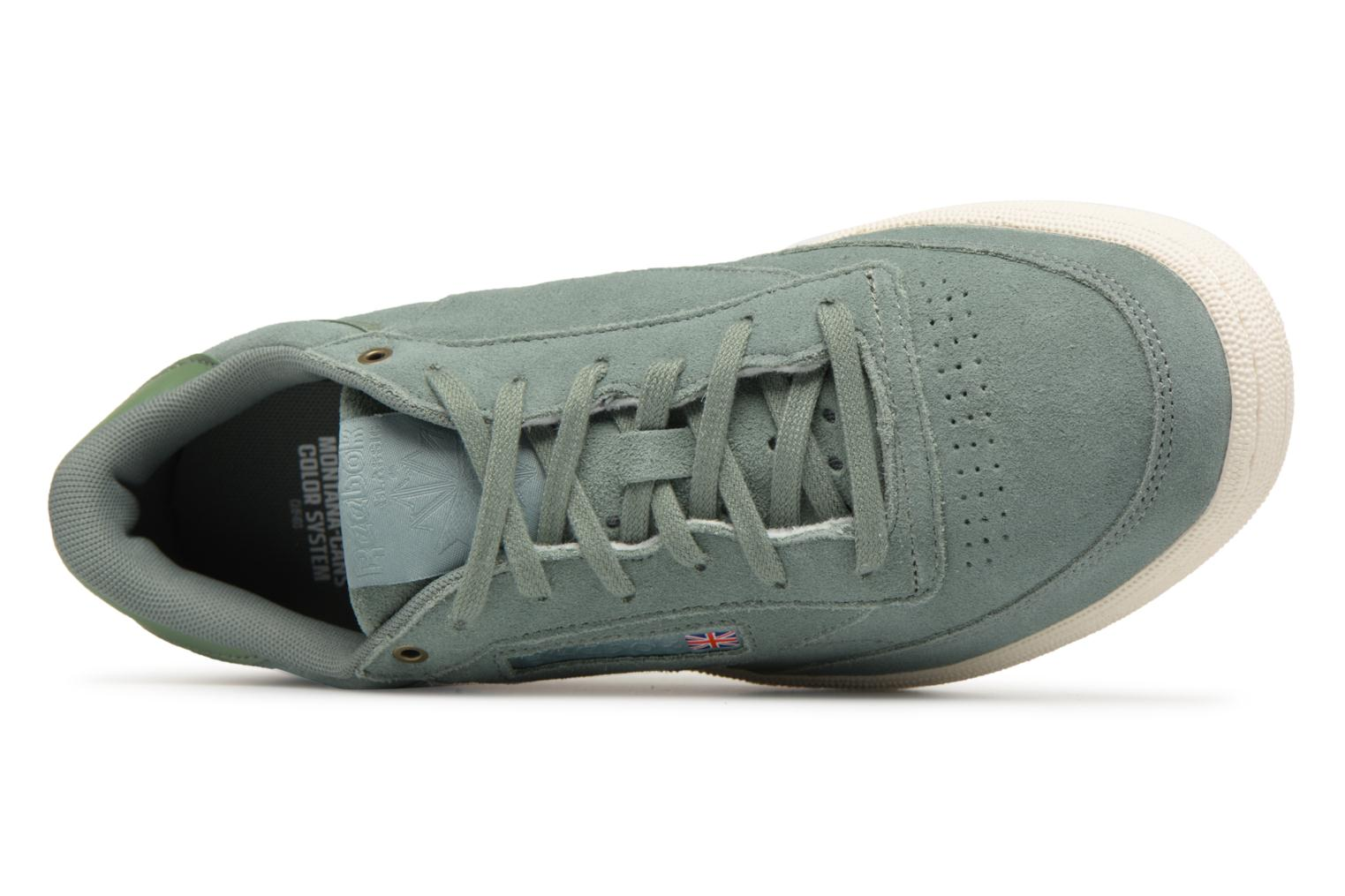 Sneakers Reebok Club C 85 Montana Cans Collaboration Groen links