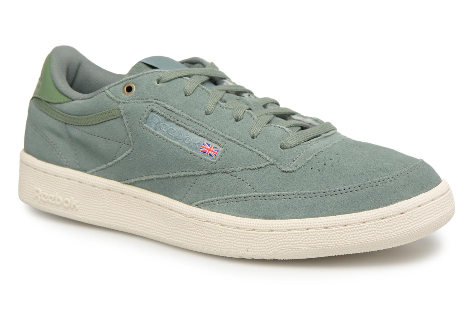 Sneakers Reebok Club C 85 Montana Cans Collaboration Groen detail