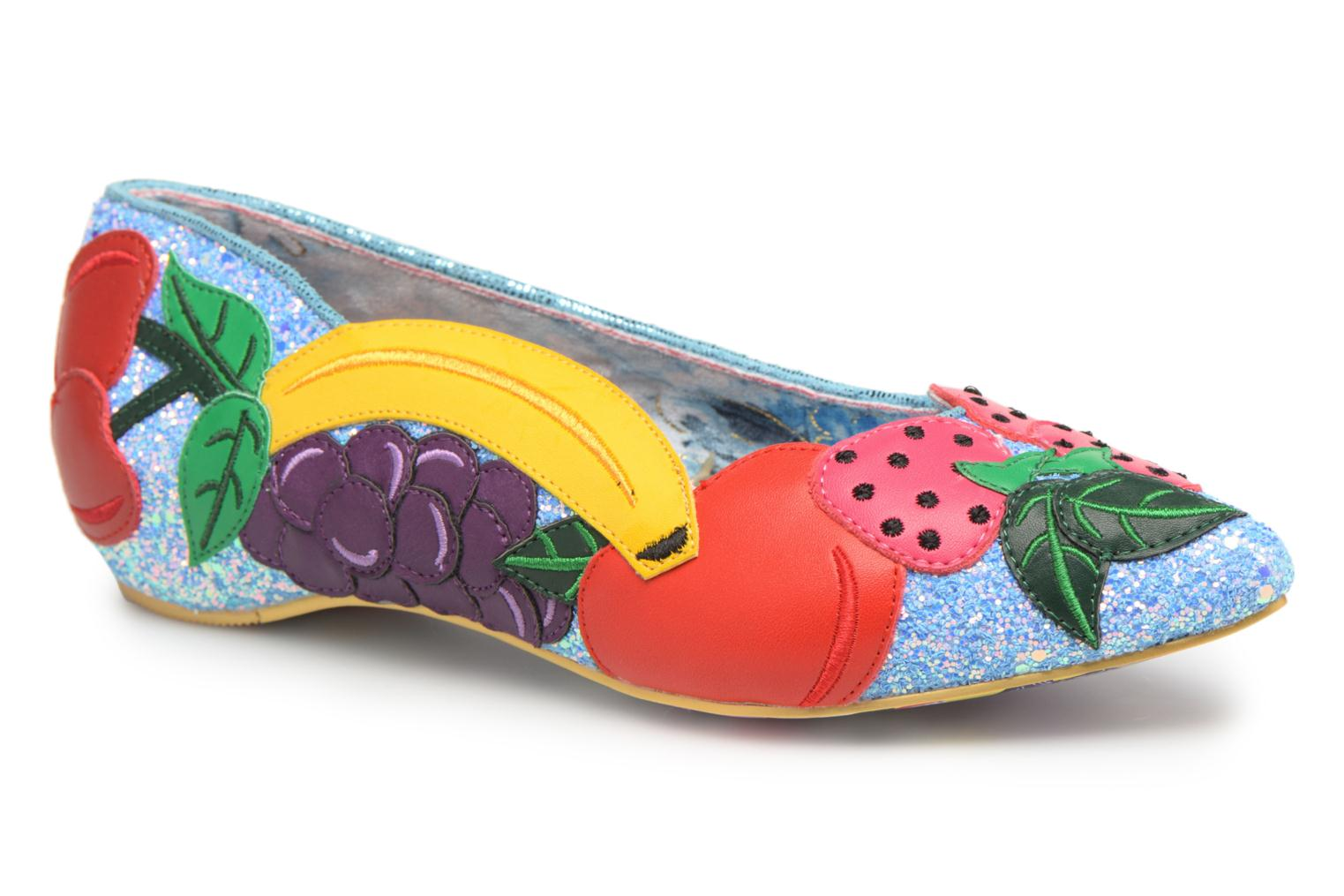 Ballerines Irregular Choice BANANA BOAT Rose vue détail/paire