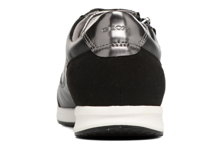 Baskets Geox D AVERY A D74H5A Noir vue droite