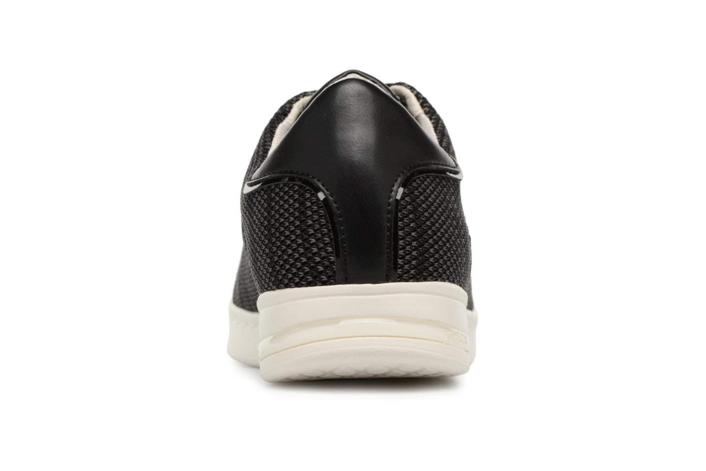 Baskets Geox D JAYSEN A D821BA Noir vue droite