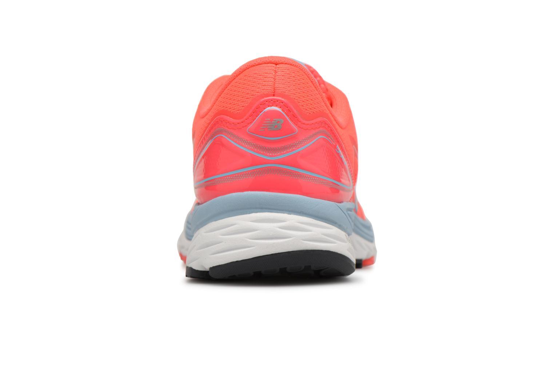 Chaussures de sport New Balance WSOLV Orange vue droite