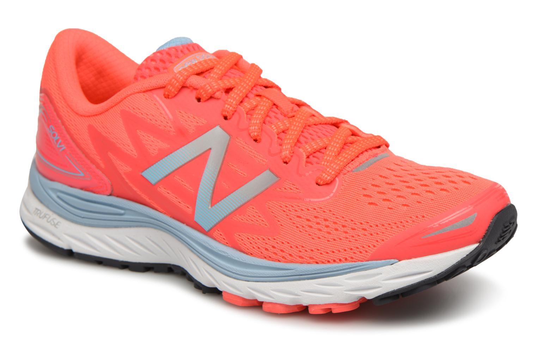 Chaussures de sport New Balance WSOLV Orange vue détail/paire