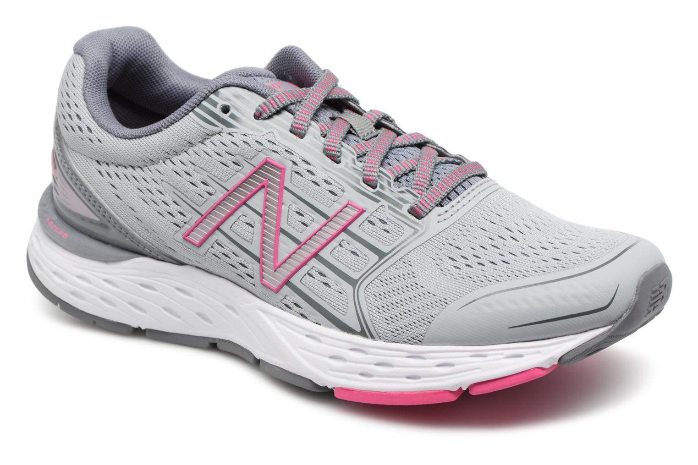 New Balance W680L (Gris) - Chaussures de sport chez Sarenza (316247)