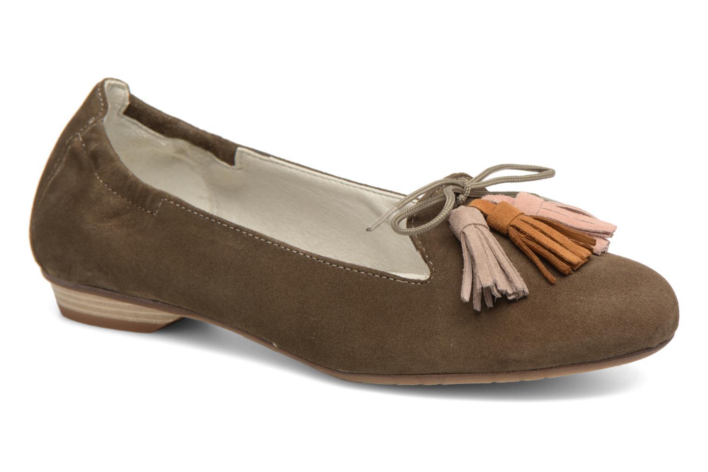 Grandes descuentos últimos zapatos Dorking Telma 7443 (Verde) - Bailarinas Descuento