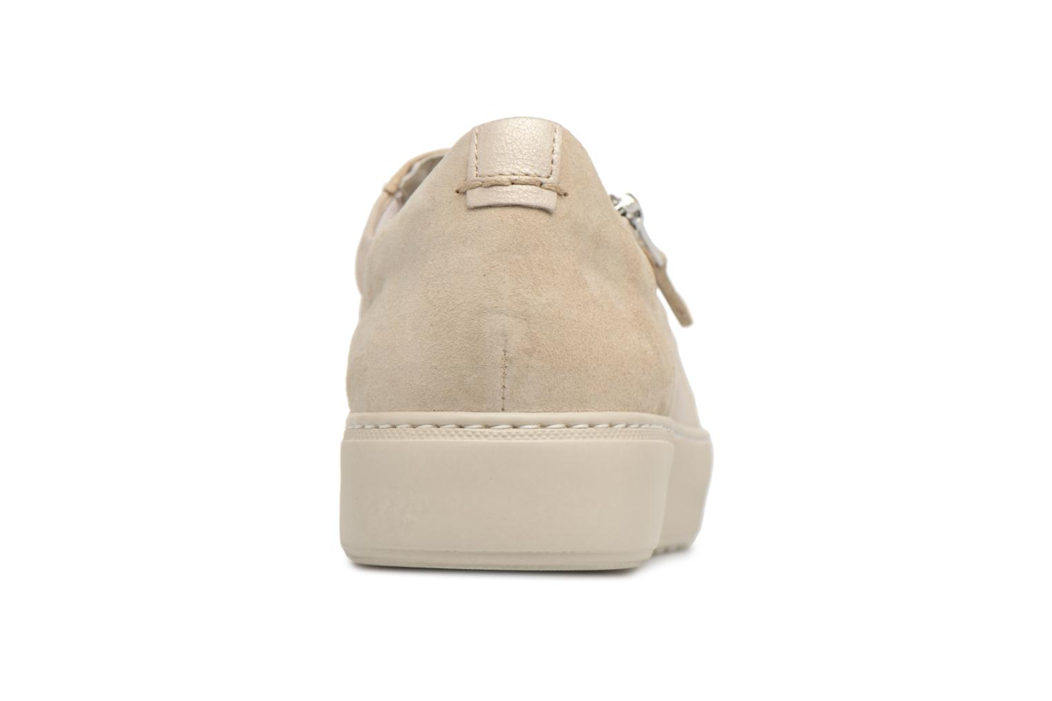 Trainers Dorking Bombay 7524 Beige view from the right
