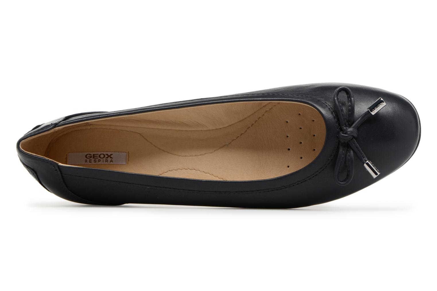 Ballet pumps Geox D LAMULAY D D825DD Blue view from the left