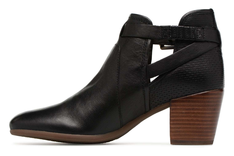 Bottines et boots Geox D LUCINDA B D8270B Noir vue face