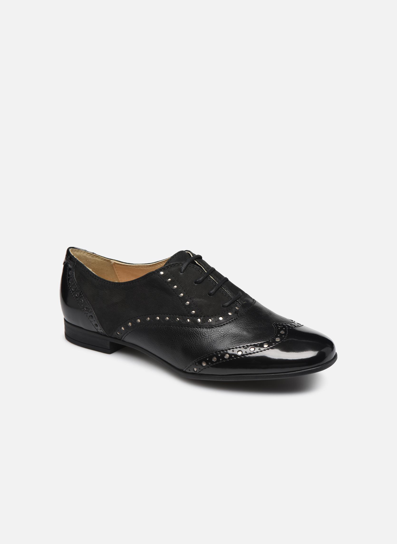 ZapatosGeox (Negro) D MARLYNA C D828PC (Negro) ZapatosGeox - Zapatos con cordones   Venta de liquidación de temporada 4d0672