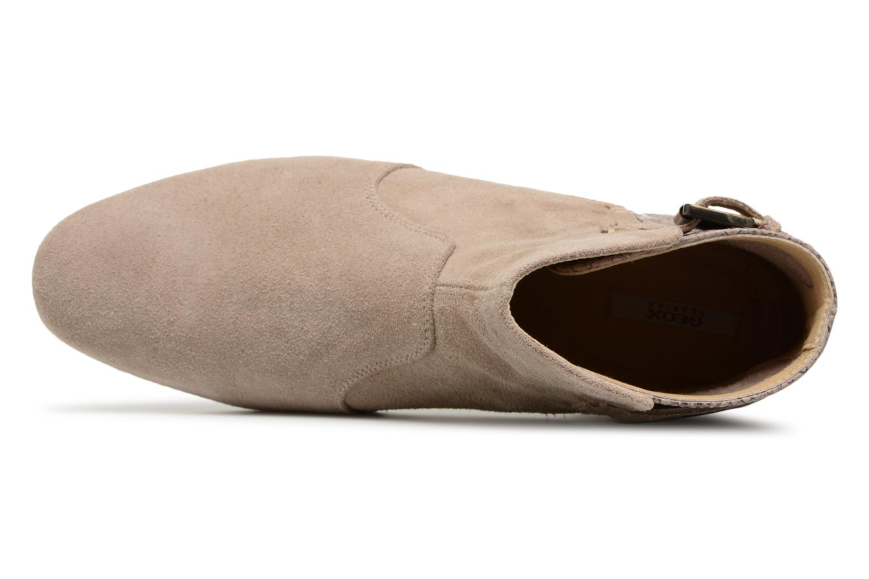Bottines et boots Geox D MARLYNA G D828PG Beige vue gauche