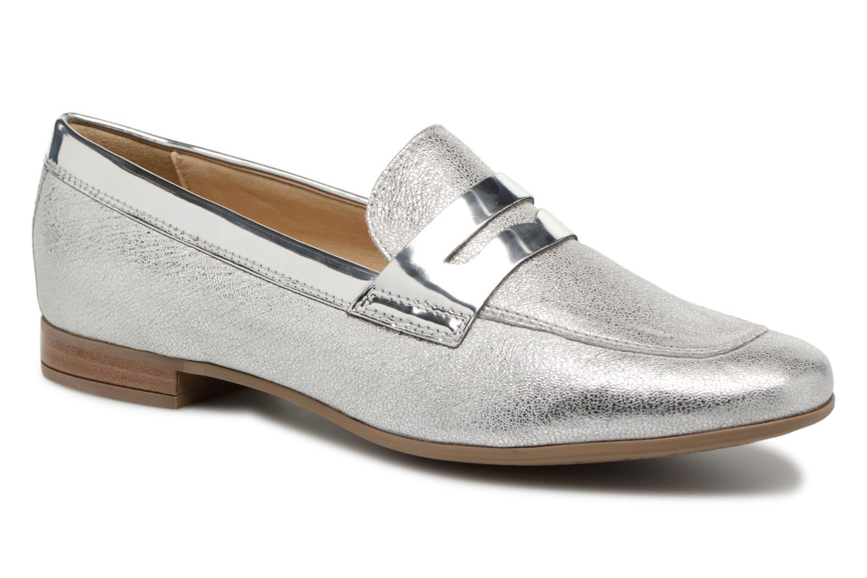 Grandes descuentos últimos zapatos Geox D MARLYNA BD828PB (Plateado) - Mocasines Descuento