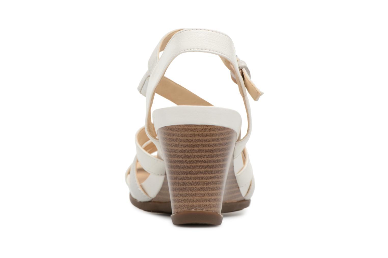 Sandales et nu-pieds Geox D DOROTHA C D828TC Blanc vue droite