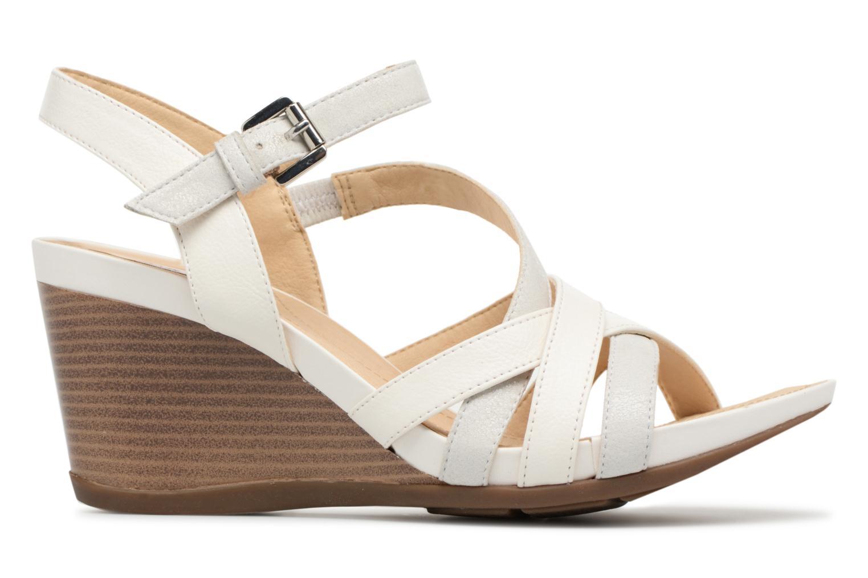 Sandales et nu-pieds Geox D DOROTHA C D828TC Blanc vue derrière