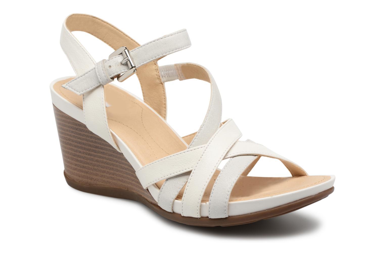 Sandales et nu-pieds Geox D DOROTHA C D828TC Blanc vue détail/paire