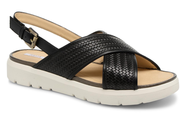 Los zapatos más populares para hombres y mujeres Geox D AMALITHA B D827WB (Negro) - Sandalias en Más cómodo