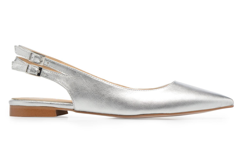 Marques Chaussure femme Made by SARENZA femme Carioca Crew Ballerines #1 Cuir métalisé argent