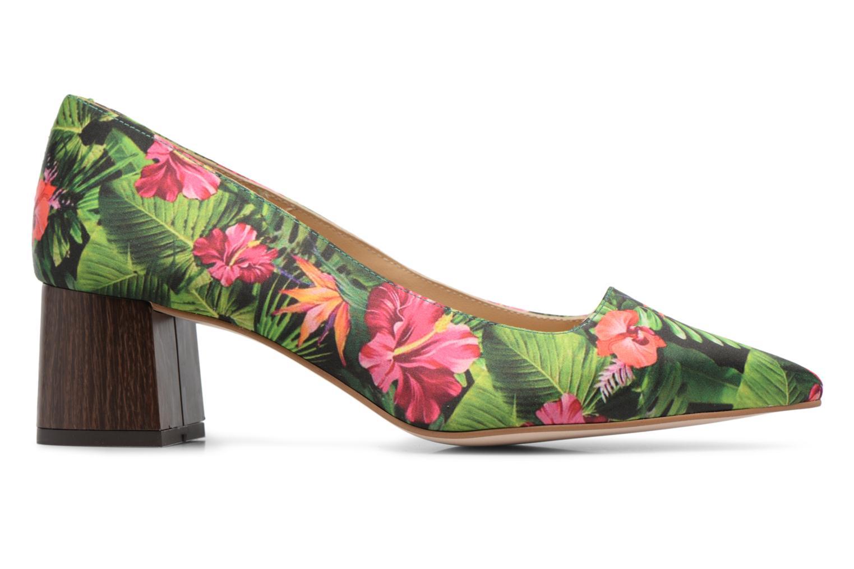 Marques Chaussure femme Made by SARENZA femme Busy Girl Bottines à Talons #1 Cuir Velours Noir / Bande Verte