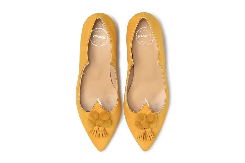 Escarpins Made by SARENZA Bombay Babes Escarpins #2 Jaune vue portées chaussures