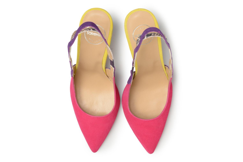 Escarpins Made by SARENZA Carioca Crew Escarpins #6 Multicolore vue portées chaussures