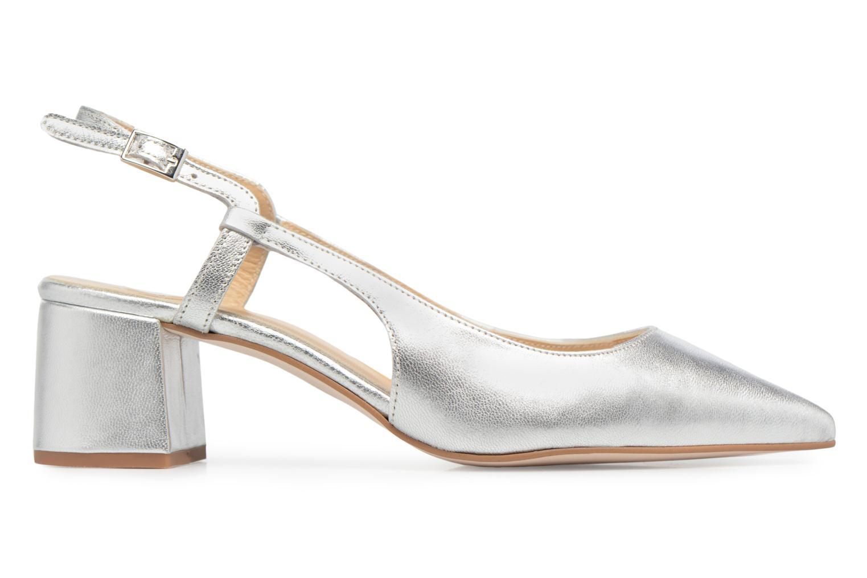 Marques Chaussure femme Made by SARENZA femme 90's Girls Gang Escarpins #8 Cuir métalisé argent
