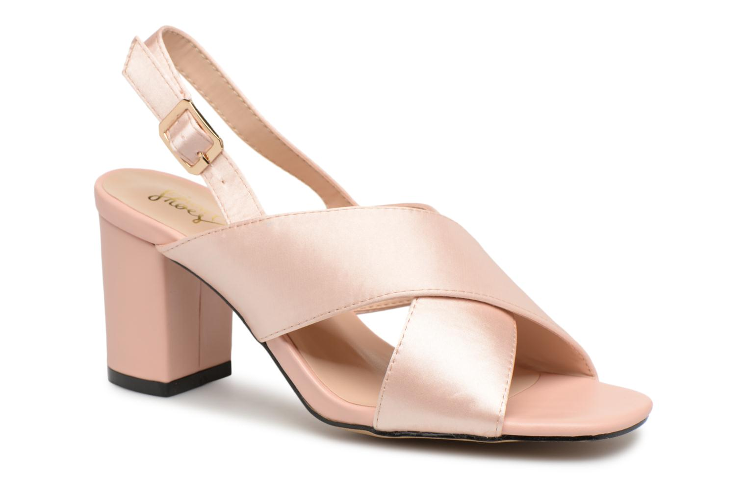 Sandales et nu-pieds I Love Shoes CALINO Rose vue détail/paire
