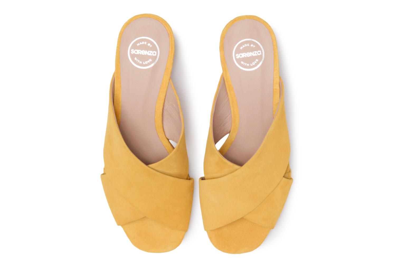Mules et sabots Made by SARENZA 90's Girls Gang Mules #2 Jaune vue portées chaussures