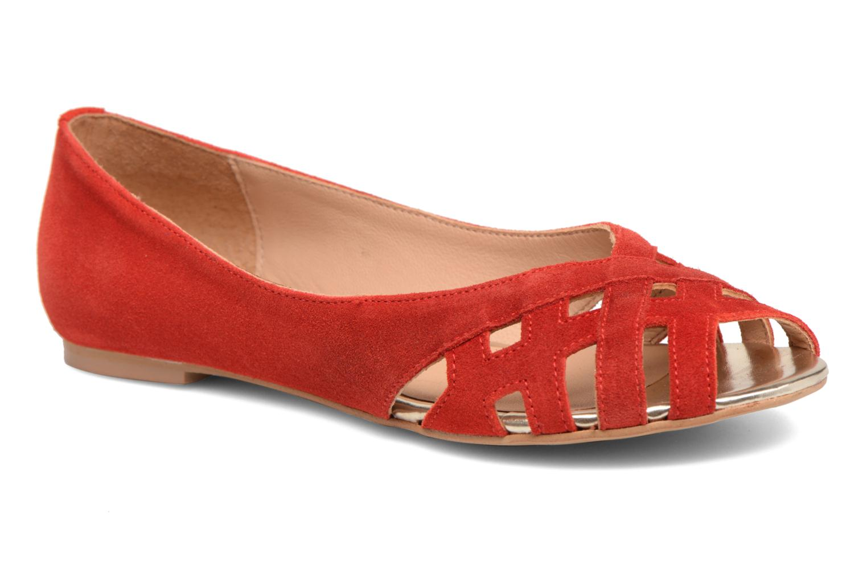 Grandes descuentos últimos zapatos Georgia Rose Cordou (Rojo) - Bailarinas Descuento