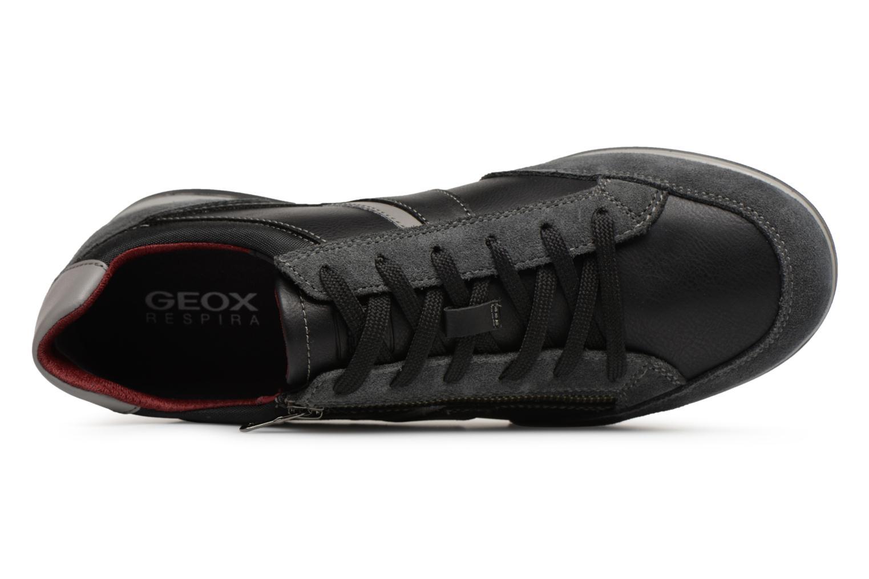 Baskets Geox U RENAN C U824GC Noir vue gauche