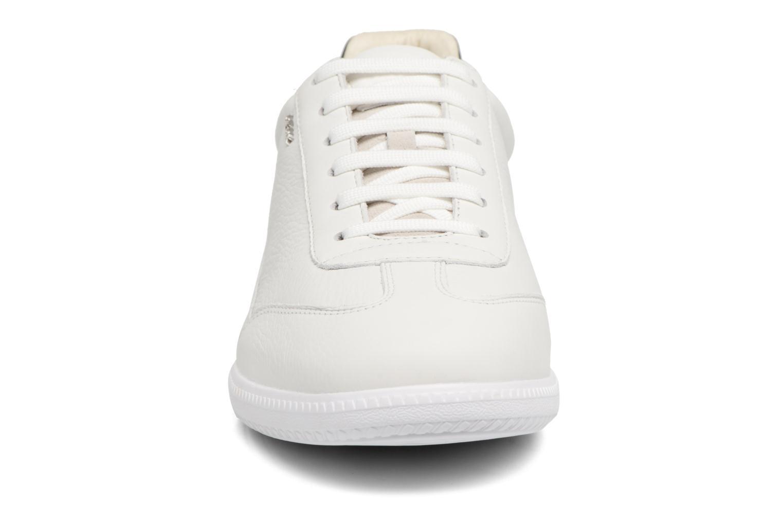 Baskets Geox U KEILAN B U824DB Blanc vue portées chaussures